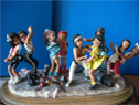 Streetdancer, Fimo Figuren